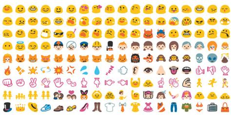 emoji what google hangouts emoji under the microscope cypress complete list of 250 new emoji released under unicode 7 0
