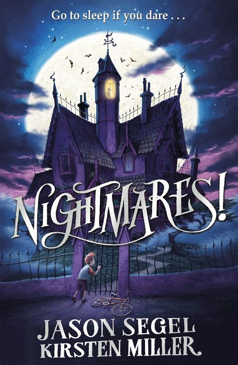 nightmare books review of nightmares jason segel and kirsten miller