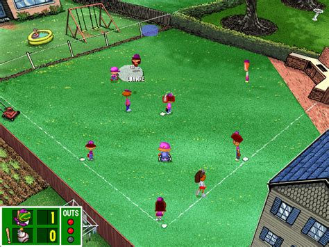 Backyard Sports Baseball by Backyard Baseball Windows Abandonware