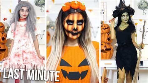 diy  minute halloween costume ideas ad youtube