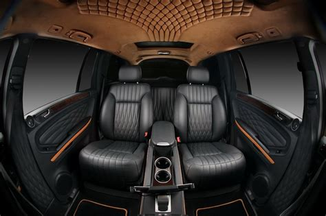 Vilner Mercedes Benz Gl Rear Captain Seats Egmcartech Interior Design Automotive