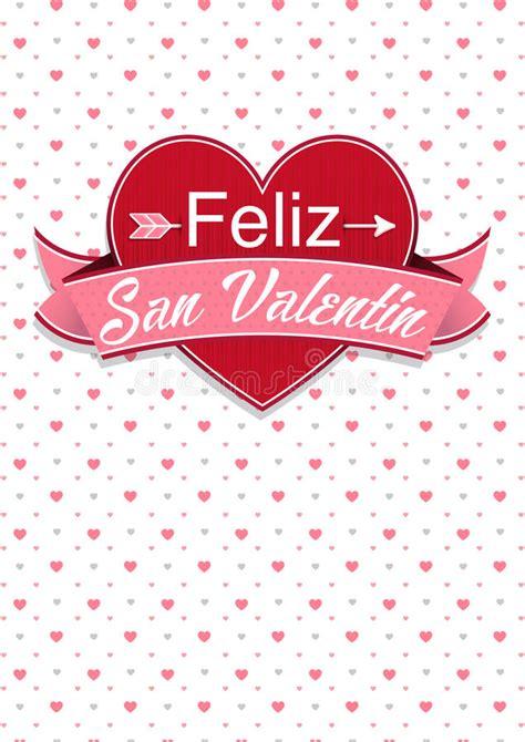 san valentin messages card cover with message feliz san valentin happy