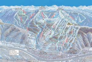 vail colorado ski map where to ski and snowboard vail