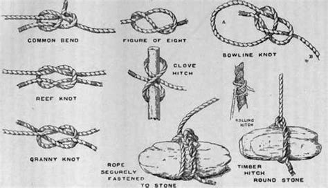 boat knots to know boating knots you should know