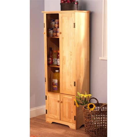 pantry armoire kitchen organizer rustic kitchen ideas light wood free
