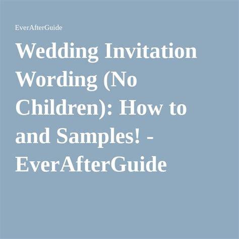 wedding invitations no children wedding invitation wording no children invitation wording weddings and wedding
