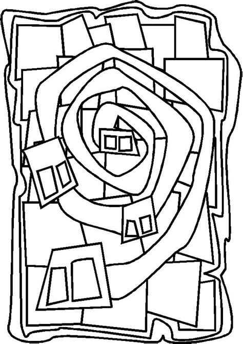 libro hundertwasser colouring book colouring 199 best images about kunstenaars kleurplaten on coloring great paintings and