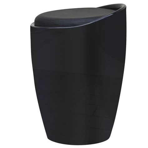 sgabello abs articoli per sgabello in abs nero rotondo con sedile