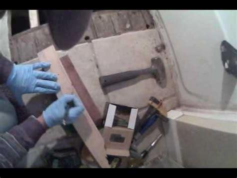 bathroom subfloor repair bathroom subfloor repair youtube