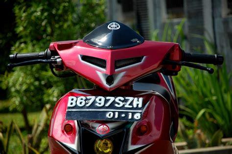 Modif Jupiter Mx Hijau by Modifikasi Motor Yamaha 2016 Modif Jupiter Mx Warna Hijau