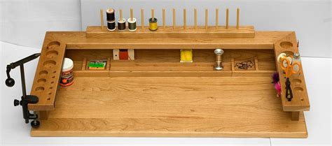 homemade fly tying bench woodwork build your own fly tying bench pdf plans