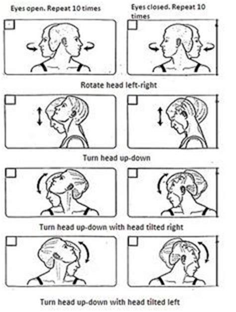 dizziness exercises inner ear vertigo exercises images vertigo