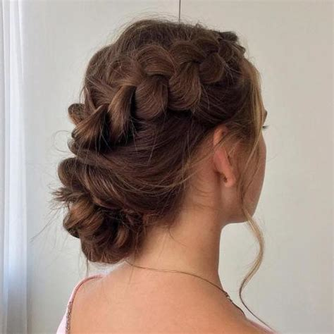 hairstyles that are twisted on one side and curly on the other 45 side hairstyles for prom to please any taste