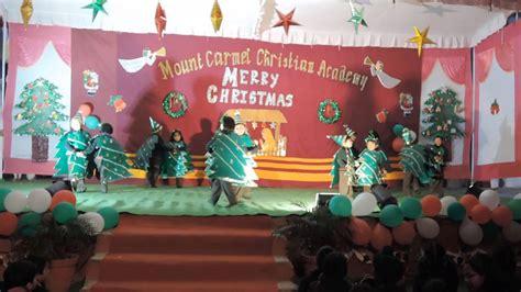 i m the happiest christmas tree kindergarten kids