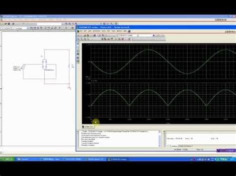 diode bridge rectifier pspice simulation of bridge diode d5sb60 using pspice