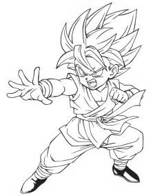 dragon ball z kai drawings az coloring pages