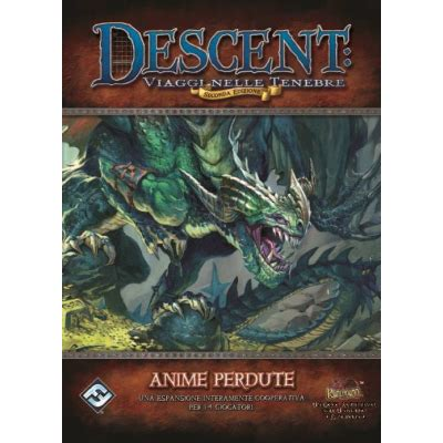 descent gioco da tavolo www uplay it descent seconda edizione anime perdute