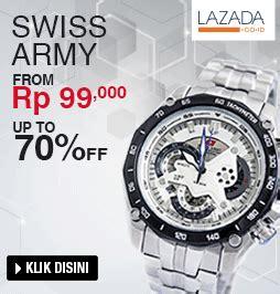 Jam Tangan Swiss Army Professional kata hati promo jam tangan di lazada