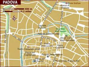 Padova Italy Map by Map Of Padua