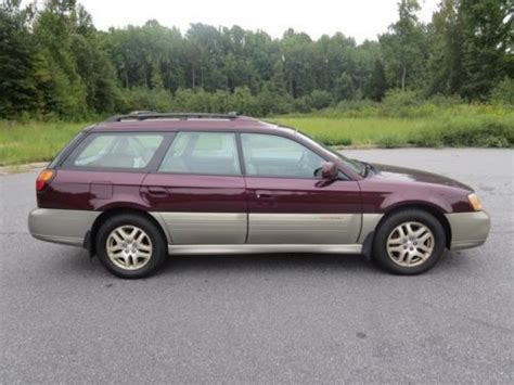 purple subaru outback find used 2000 outback limited awd high bidder wins