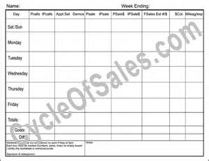 sales call cycle template best photos of weekly goal sheet template smart goal