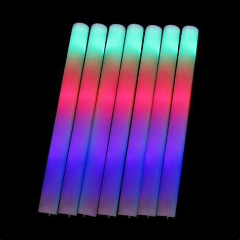 top selling high quality amazing led color changing aliexpress com buy 20pcs lot 3 modes led foam stick