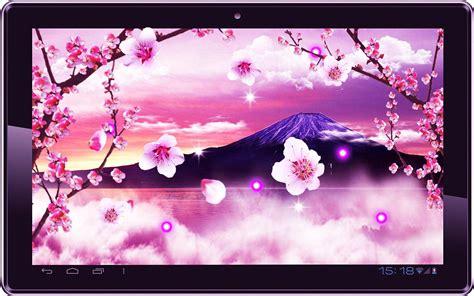 wallpaper animasi japan gambar wallpaper bergerak bunga sakura gudang wallpaper