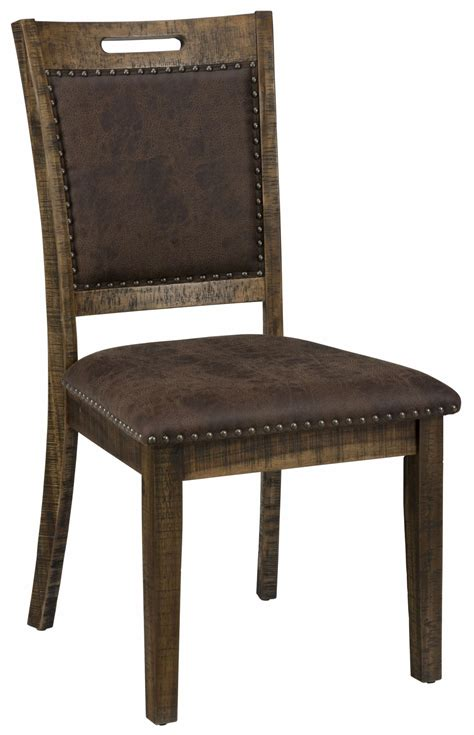 Upholstered Dining Chair Set Cannon Valley Upholstered Back Dining Chair Set Of 2 From Jofran Coleman Furniture
