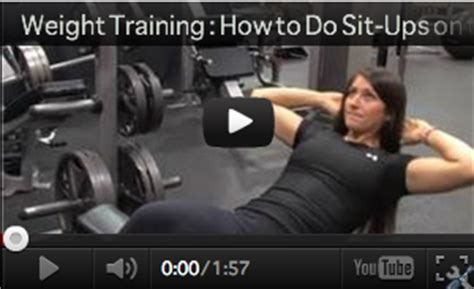 how to do sit ups on a bench the 5 best sit up bench exercises for flat and firm abs
