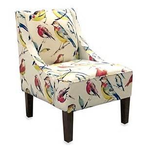 One Arm Chair Design Ideas Buy Skyline Furniture Swoop Arm Chair In Bird Watcher