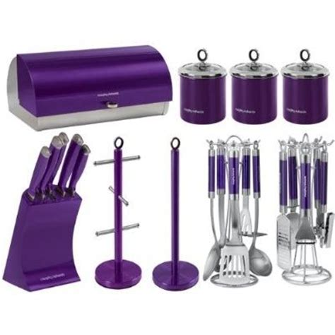 purple canisters for the kitchen purple kitchen knife sets morphy richards kitchen set