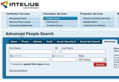 Find Intelius The Best Free Search Engines Page 6