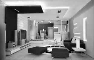 Modern black and white living room decor amazing living room
