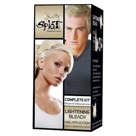 best box dye for bleaching hair splat hair bleach and color kit target