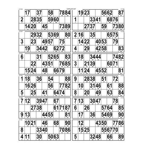 cout grille loto 42 planches de 12 grilles en papier 80gr enti 232 rement