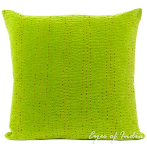 Green Velvet Throw Pillows by 20 Green Velvet Cotton Throw Pillow Cushion Cover Ethnic