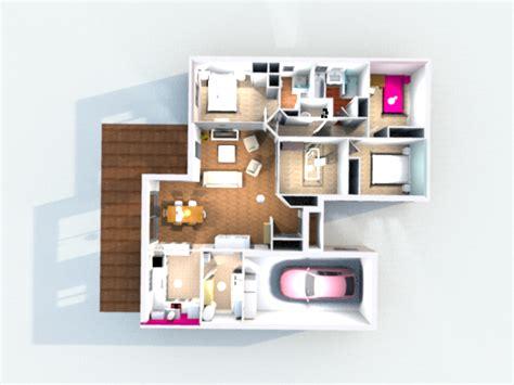 Logiciel Modélisation Maison Construction De La Maison En 3d Avec Sweet Home 3d