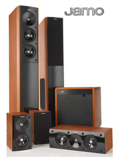 jamo s606hcs8 floorstanding 5 1 speaker system with