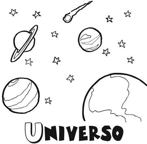 imagenes del universo faciles de dibujar el sistema solar dibujos para colorear ciclo escolar