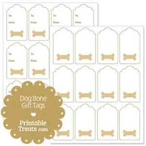 treat label template printable bone gift tags printable treats