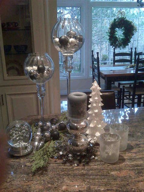 kitchen island christmas decor traditional kitchen