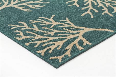 coral and turquoise rug new coral reef turquoise outdoor rug
