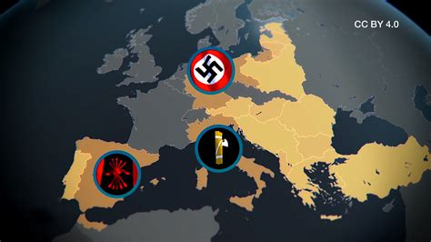 verbreitung des faschismus  europa creative commons