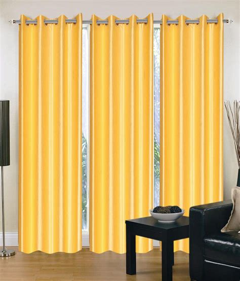 Yellow Window Curtains Brand Decor Plain Yellow Window Curtains Buy Brand Decor Plain Yellow Window Curtains