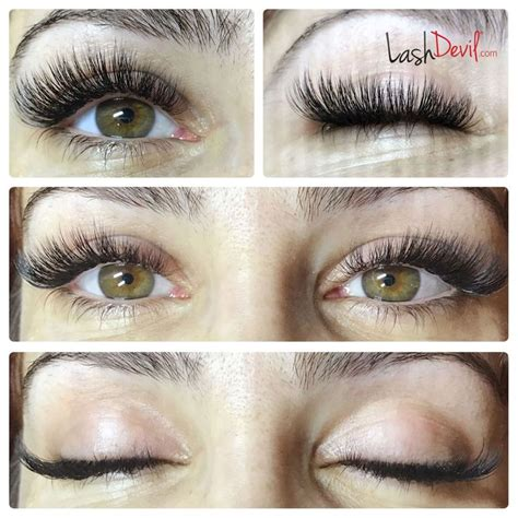eyelash extensions 50 year old cat eye volume set lash extensions is my art pinterest