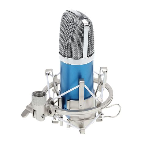 pc laptop radio studio microphone with mic shock mount 3 5mm audio cable foam cap condenser