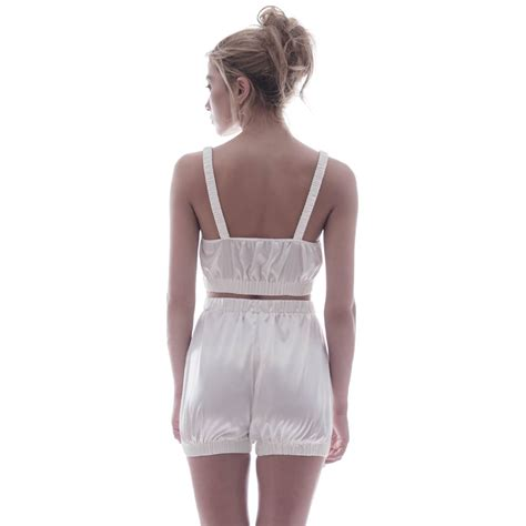 Jumpsuit Overall Wolf 86 Set Terlengkap quot sundays are for quot silk sleepwear set ivory roses are wolf badger