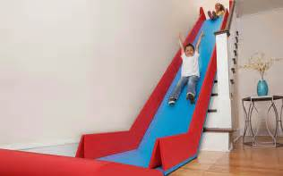 Stair Slide the sliderider turns stairs into a slide incredible things