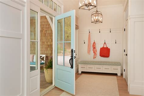front door storage front door colors entry beach style with light blue door