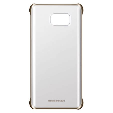 Samsung Clear Note 5 Gold official samsung galaxy note 5 clear cover gold